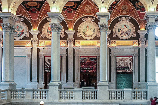 Library of Congress View by Thomas Marchessault