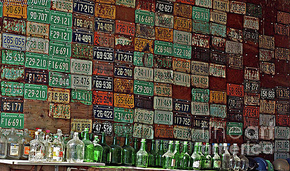 Licence Plate Collection by Randy Harris