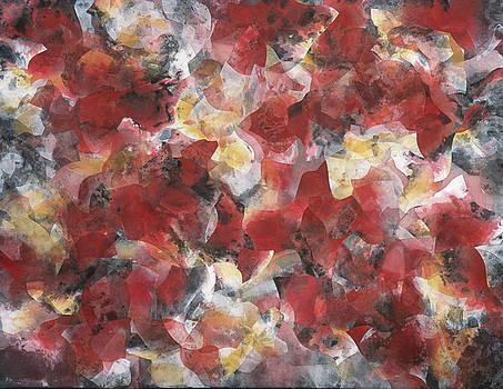 Lichens #4 by Margaret Anderson