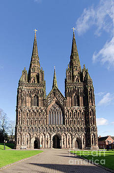 Lichfield cathedral by Steev Stamford