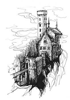 Lichtenstein castle by Katerina Kopaeva