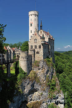 Lichtenstein Castle by Yair Karelic