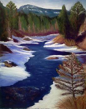 Licia's Painting Gratitude by Marjie Eakin-Petty