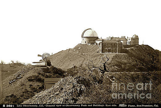 California Views Mr Pat Hathaway Archives - Lick Observatory Is Located On The Summit Of Mt. Hamilton 1900