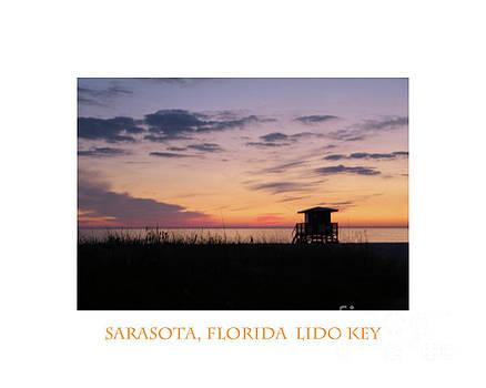 Lido Key Sunset by Karen Francis