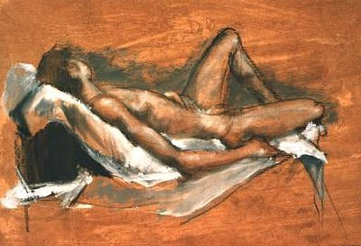 Life Drawing 03 by Denise Urban