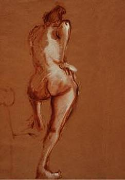Life Drawing 04 by Denise Urban