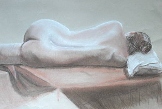 Life Drawing 1 by Sara Allison