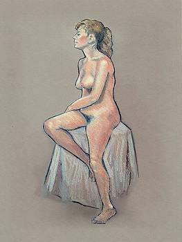 Joyce Geleynse - Life Drawing, Colour Pencil