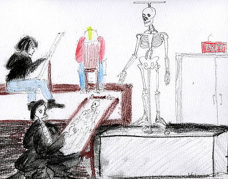 Life Drawing by Darkest Artist