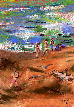 Life Is A Beach by Donna Crosby