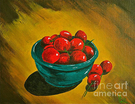 Life is a bowl of cherrys by Herschel Fall