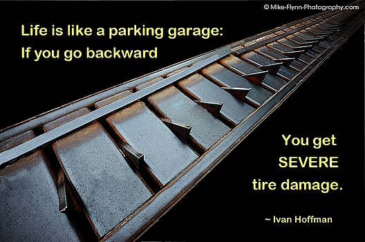 Life Is Like a Parking Garage by Mike Flynn