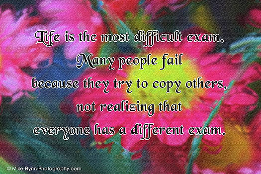 Life Is the Most Difficult Exam by Mike Flynn