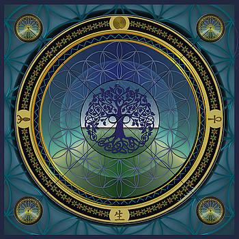 Life Mandala by Vincent Autenrieb