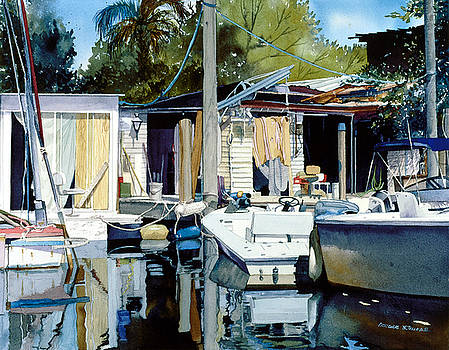 Life on the Water I by Douglas Teller