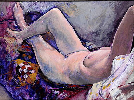 Harry Robertson - Life Painting with Quilt
