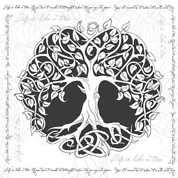 Life Tree. Life is like a tree by Gina Dsgn