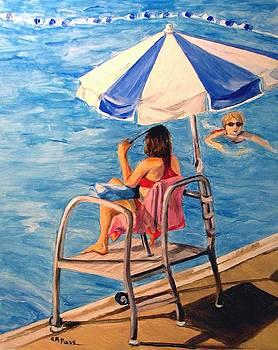 Lifeguard at Ft. Belvoir by Cheryl Pass