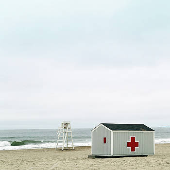 Lifeguard Chair and First Aid Station by Brooke T Ryan