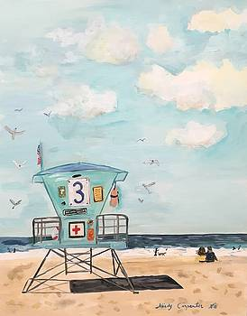 Lifeguard Station by Mindy Carpenter