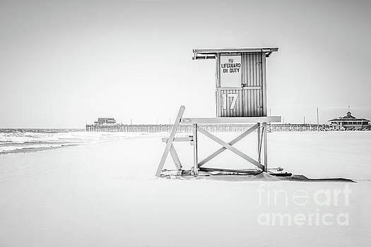 Paul Velgos - Lifeguard Tower 17 and Newport Beach Pier