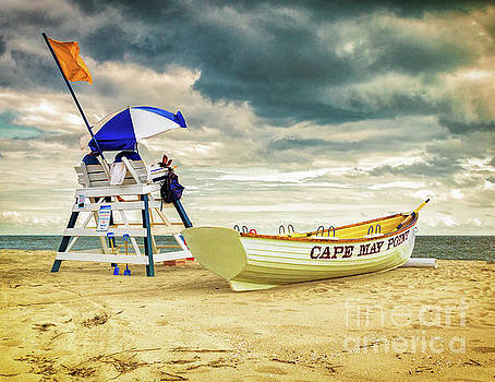 Lifeguards at Cape May Point by Nick Zelinsky