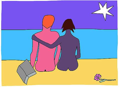 Life's a beach by Nicholas Brockbank