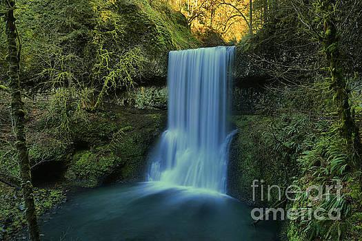 Adam Jewell - Light Above Lower South Falls