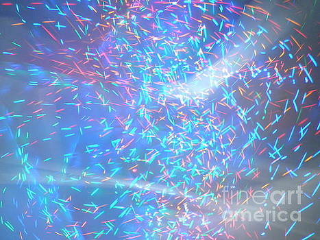 Light Abstract Art by Artist Nandika  Dutt