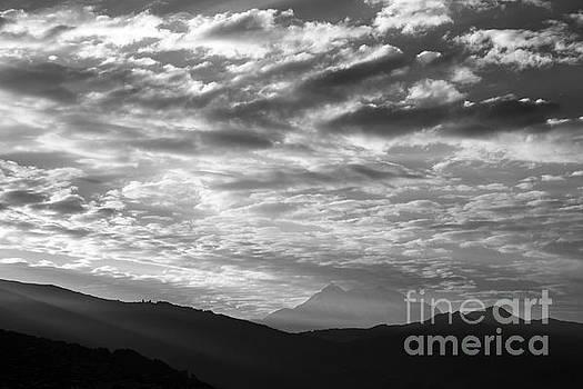 James Brunker - Light and Cloud over Mt Illimani