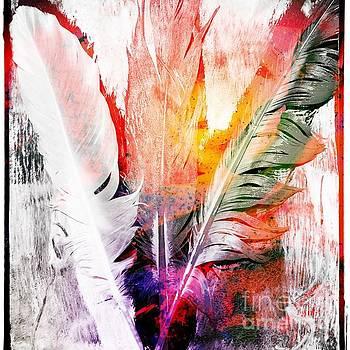 Light As A Feather  by Corina  Stupu Thomas