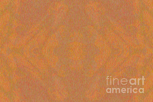 Omaste Witkowski - Light Brown Consciousness Abstract Design Art by Omaste Witkowsk