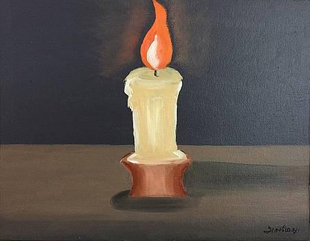 Light dispels darkness by Ramya Sundararajan