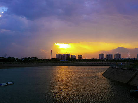 Light from above by Atullya N Srivastava