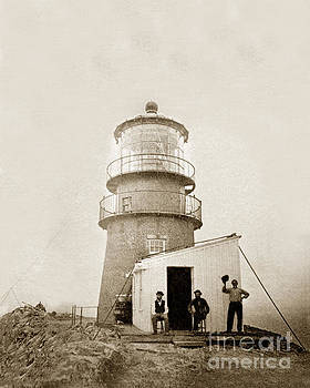 California Views Mr Pat Hathaway Archives - Light-house at Farallon Island Pacific Ocean circa 1875