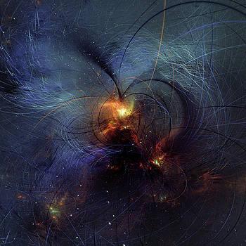Light Of Your Heart Abstract by Georgiana Romanovna