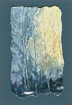 Light on Bare Trees 1 by Jerry Kelley