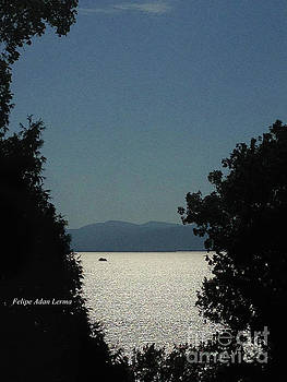 Image Included in Queen the Novel - Light on Lake Champlain 20of74 by Felipe Adan Lerma