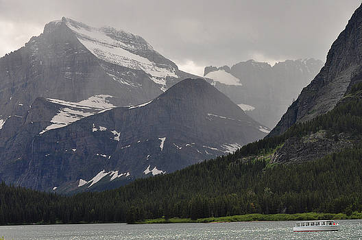 Light on Mountain slopes by D Nigon