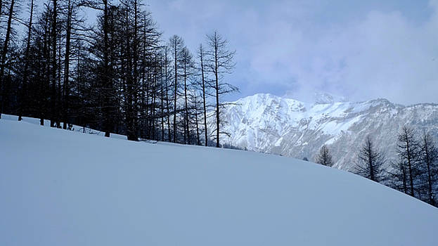 Light on Snow Peak by August Timmermans