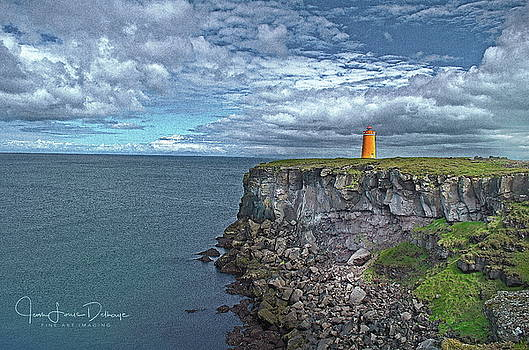 Light on the cliffs by Jean-Louis Delhaye