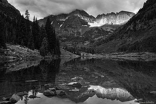 Light on The Mountains by Thomas Schoeller