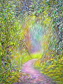Light On The Path by Joel Bruce Wallach