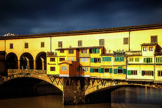 Light on the Ponte Vecchio by Andrew Soundarajan