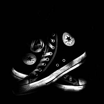 Light Painted Chucks by Dylan Murphy