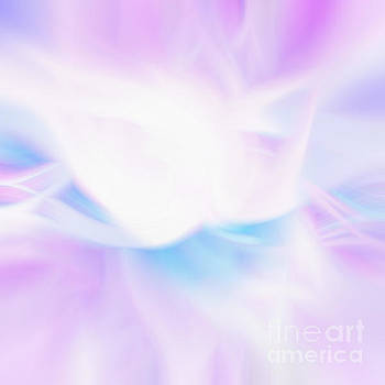 Light Purple Abstract by Phill Petrovic