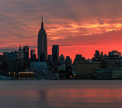 Light Ray's Of NYC  by Anthony Fields