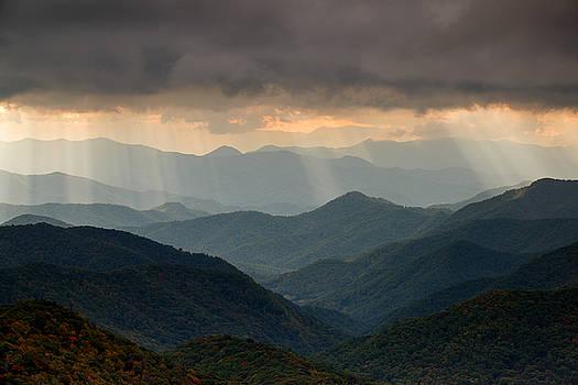 Light Rays on the Parkway by Derek Thornton