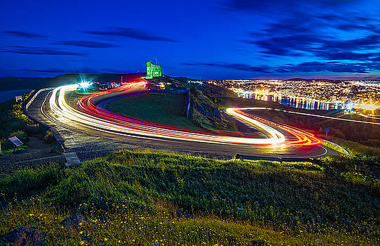 Light Road to the Tower by Gord Follett